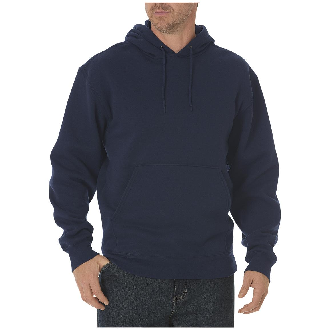 Dickies® Midweight Fleece Work Pullover, Dark Navy