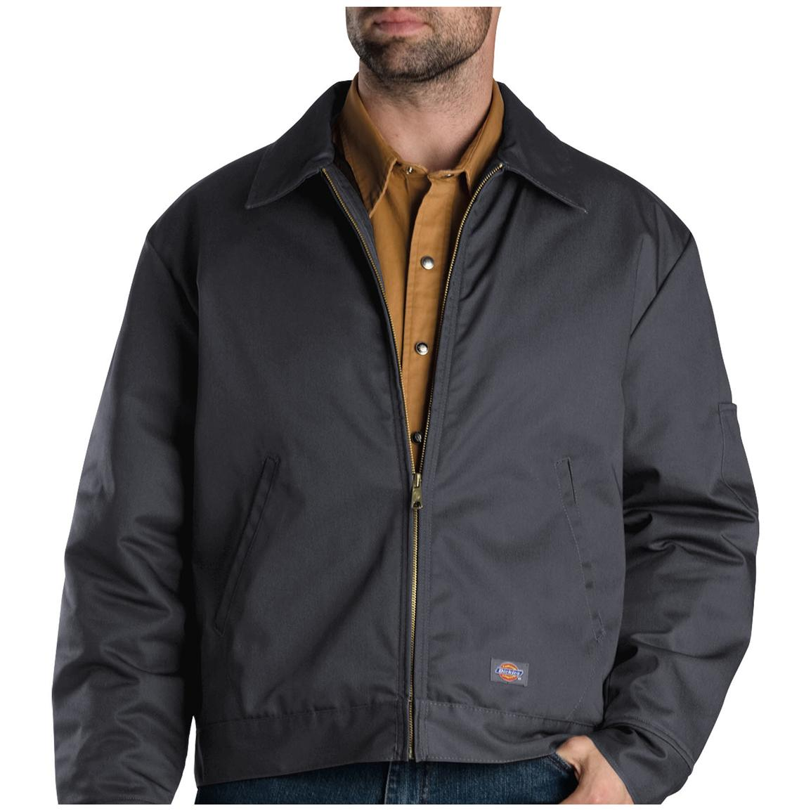 Dickies® Eisenhower Insulated Jacket, Charcoal