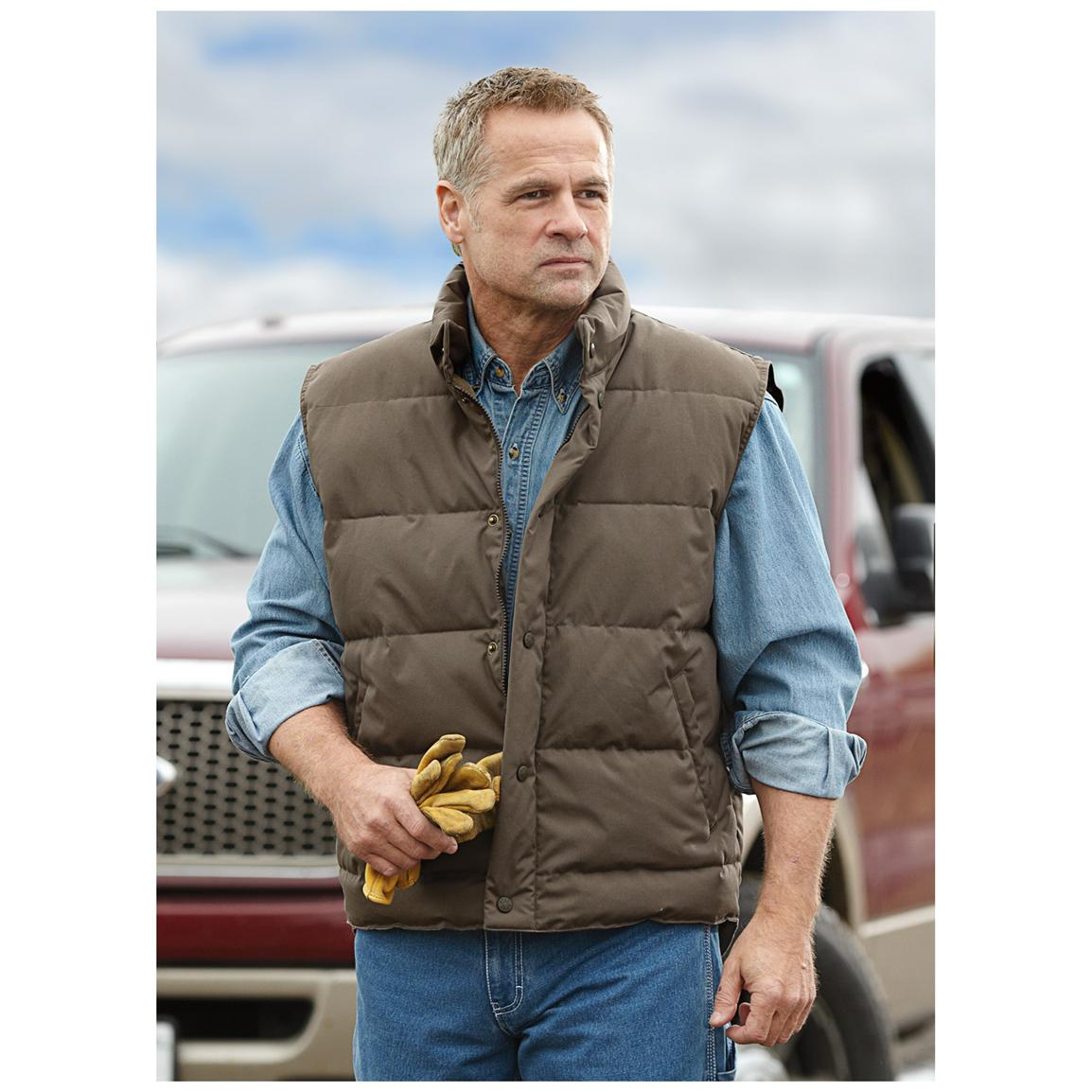 Guide Gear® Northwoods Vest, New Bark