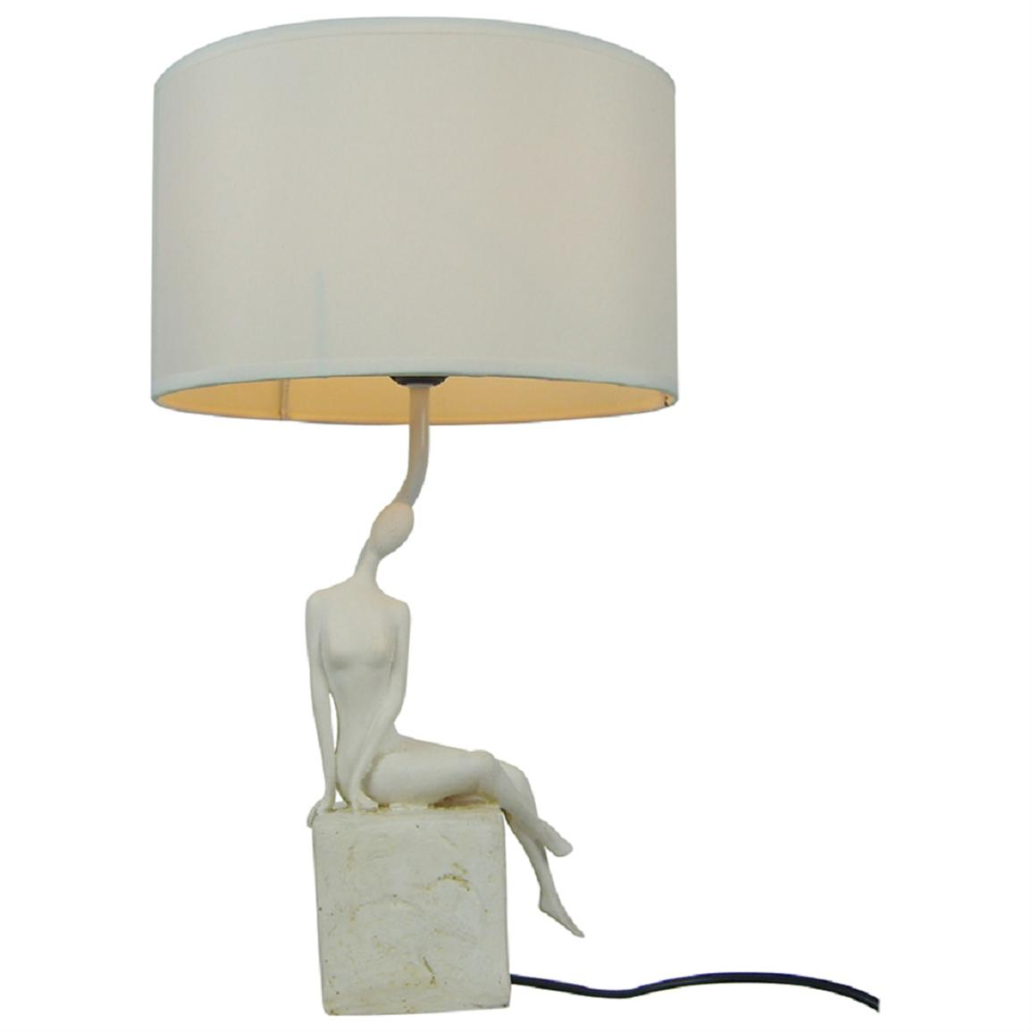 Simple Designs Abstract Woman Table Lamp