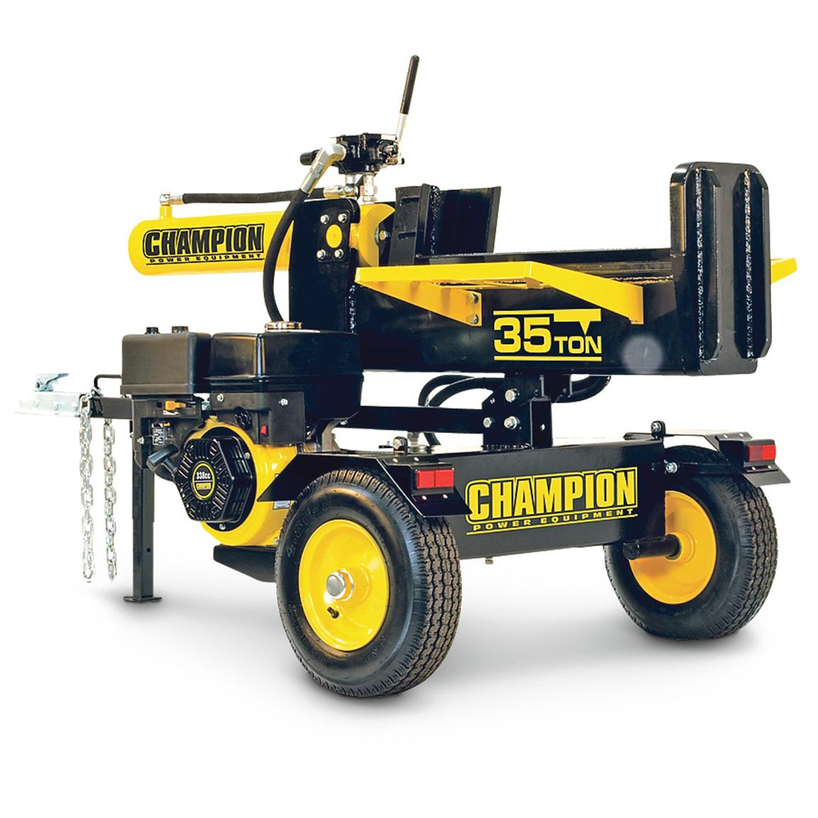Champion Power Equipment™ 35-ton Hydraulic Log Splitter