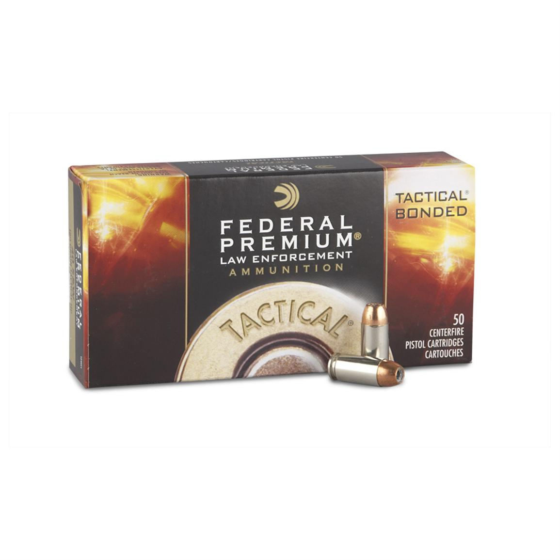 50 rds. Tactical® Bonded® .40 Smith & Wesson® Jacketed Hollow Point Ammo