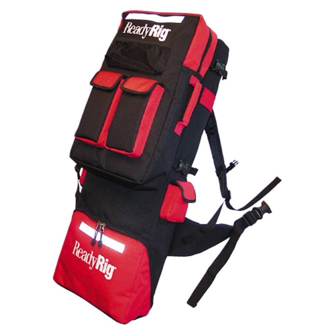 Readyrig rod backpack 42244 ice fishing gear at for Backpacking fishing kit