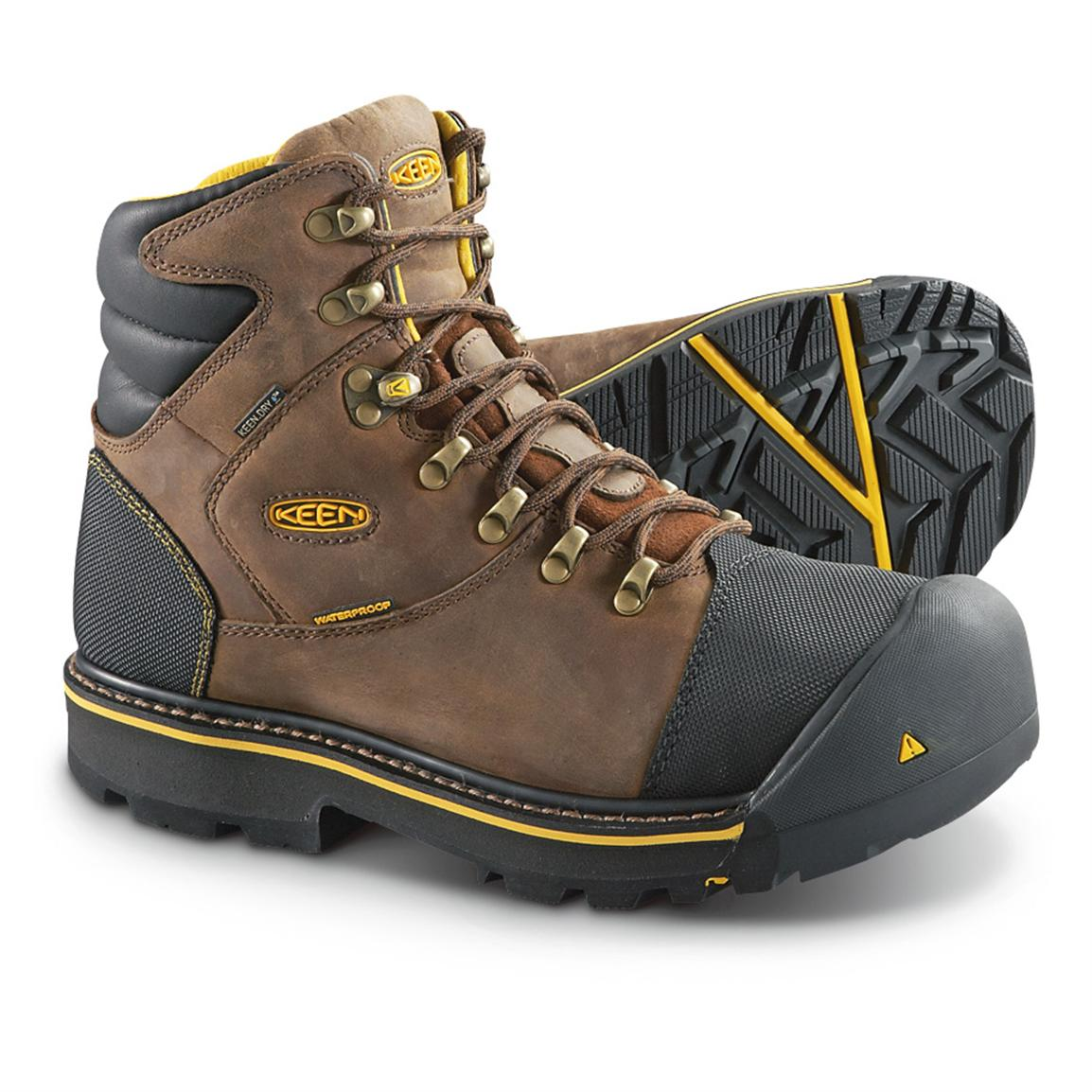 KEEN Utility Men's Milwaukee Waterproof Steel Toe Work Boots ...