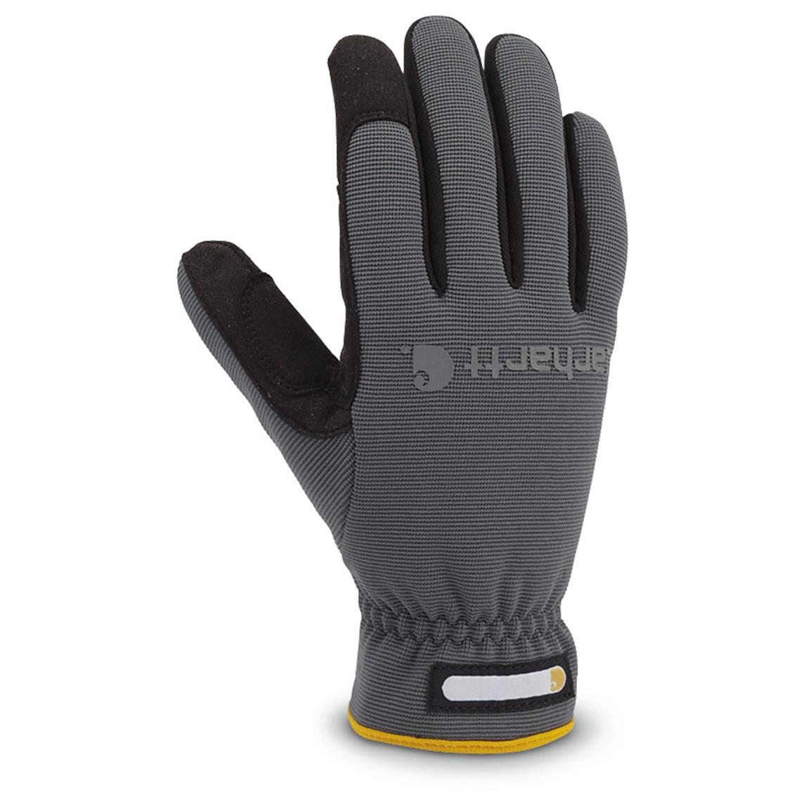 Carhartt® Quick-flex Work Gloves, Gray