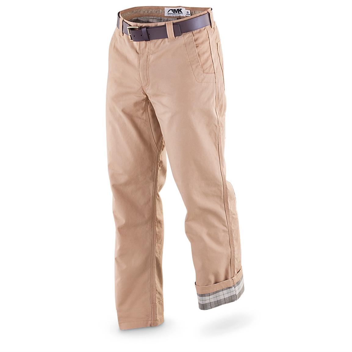 Mountain Khakis® Flannel-lined Original Mountain Pants - 424015 ...