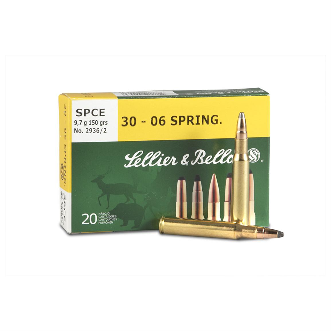 Sellier & Bellot Soft Point Cutting Edge Ammunition