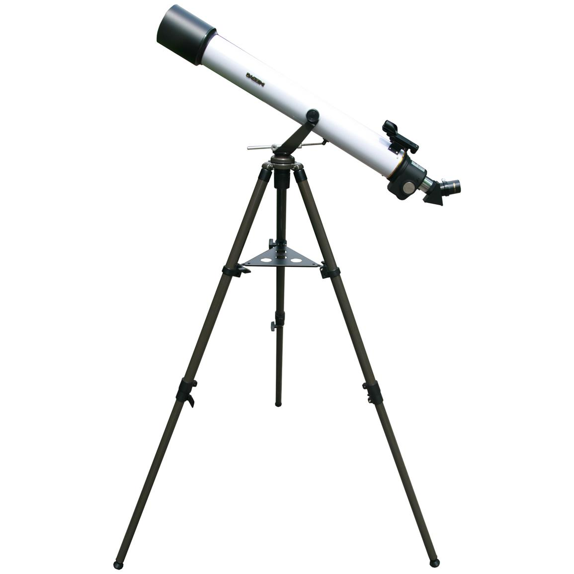 Cassini Optics® C-872EFS 800mm x 72mm Electronic Focus Astronomical / Terrestrial Refractor Telescope with Remote