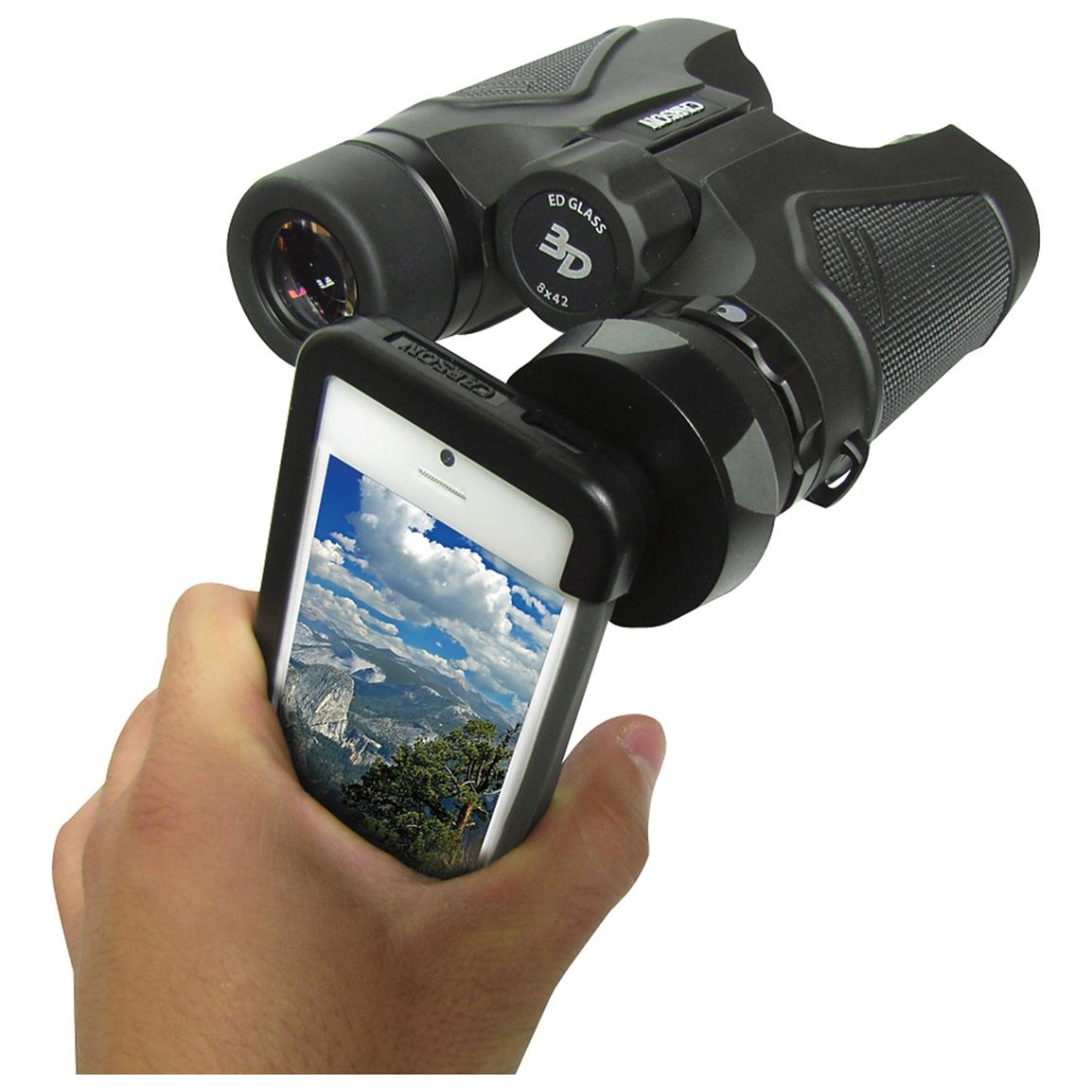 Carson® Binocular iPhone® Adapter