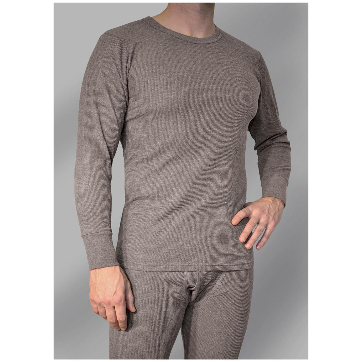 Work King® Waffle Knit Thermal Long Underwear Shirt
