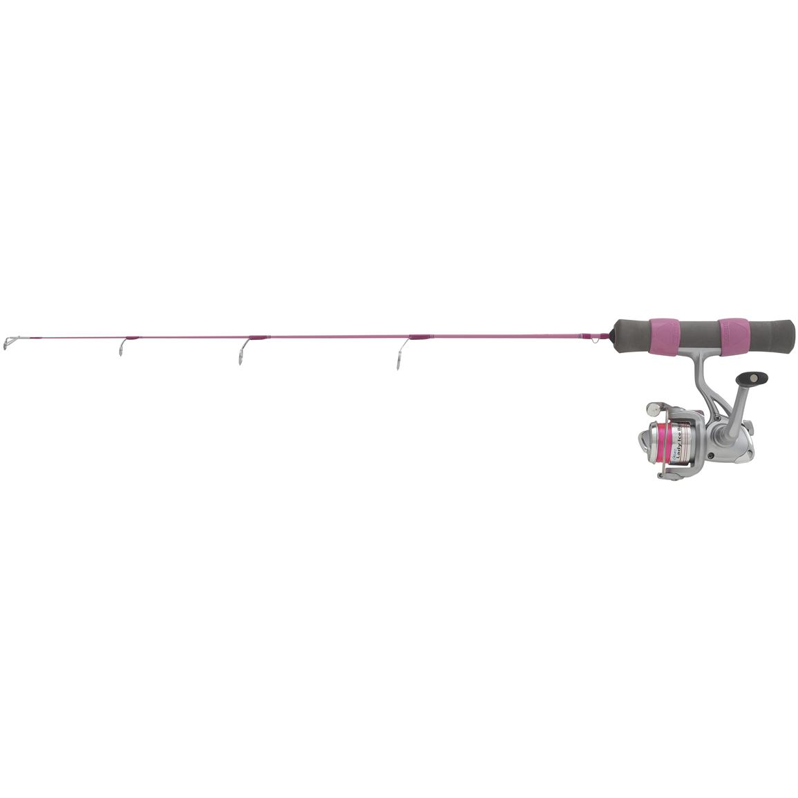 Clam™ Dave Genz Lady Ice Buster Rod & Reel Combo