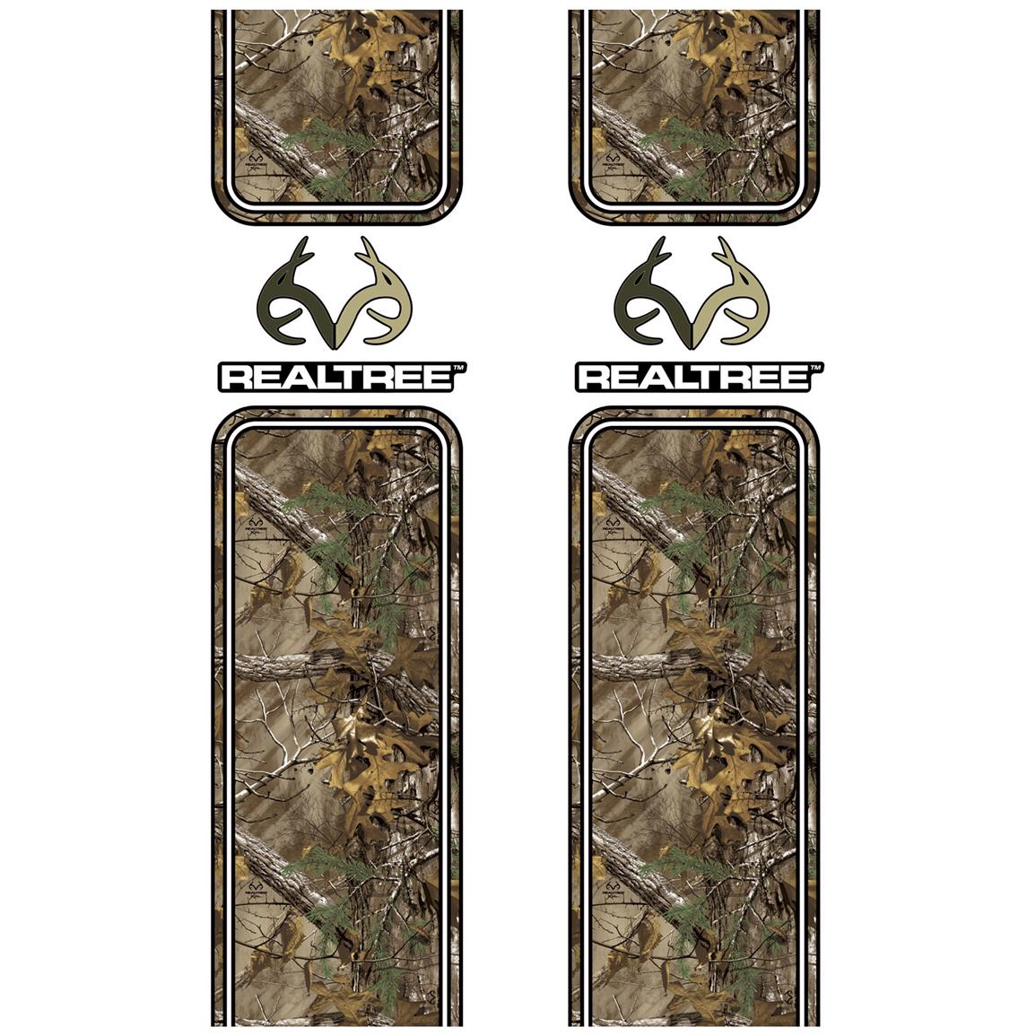 Camowraps® Realtree® Logo Truck Bed Band Camo Accent Kit, Realtree Xtra
