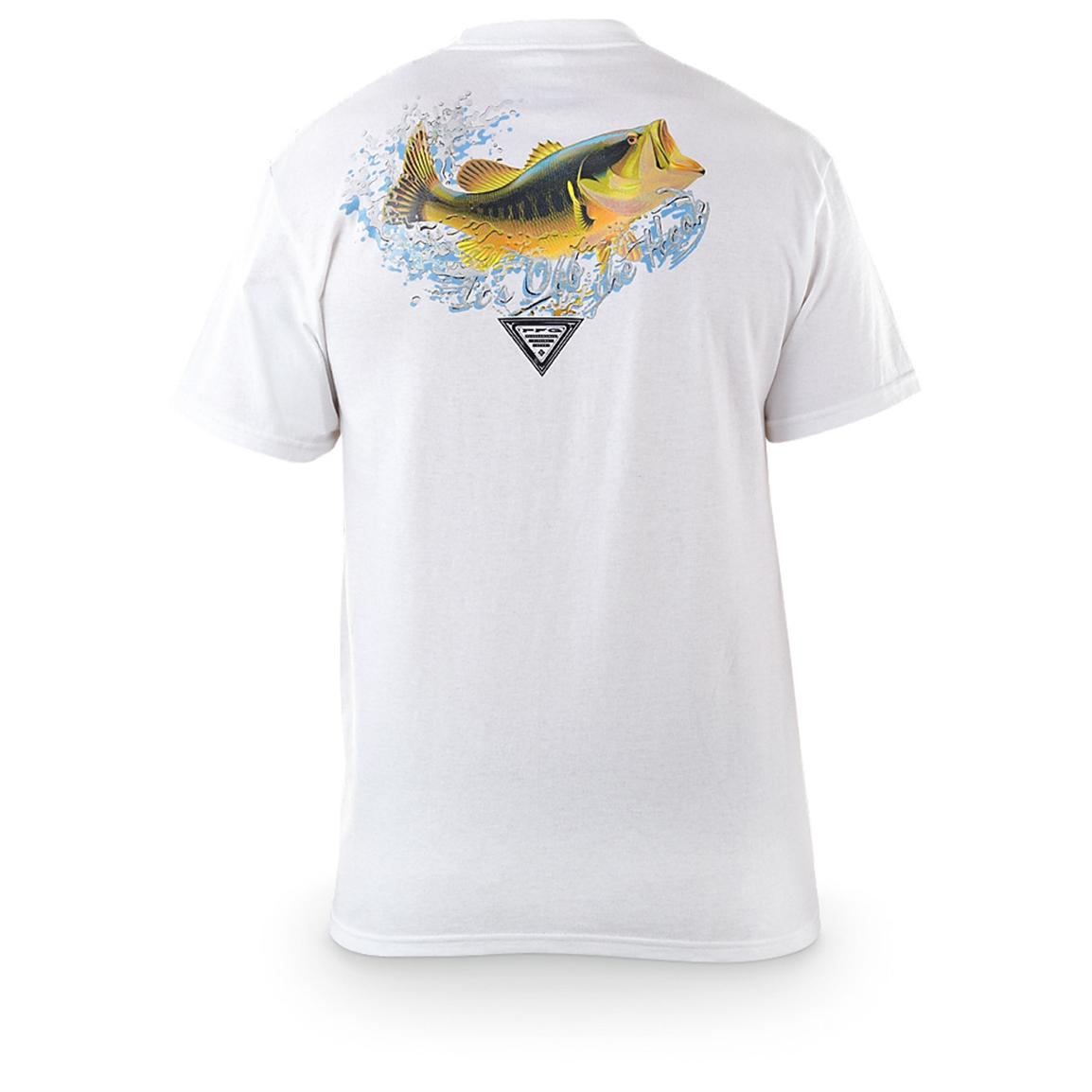 Columbia pfg at anchor short sleeved t shirt 424585 for What is a pfg shirt