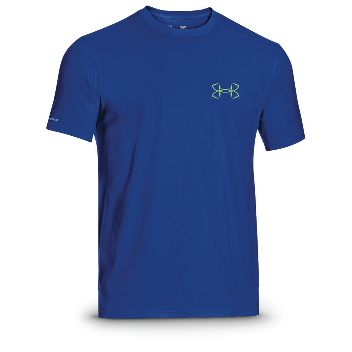 Under Armour® Nightmare Walleye T-Shirt, Blue Walleye / Feldspar
