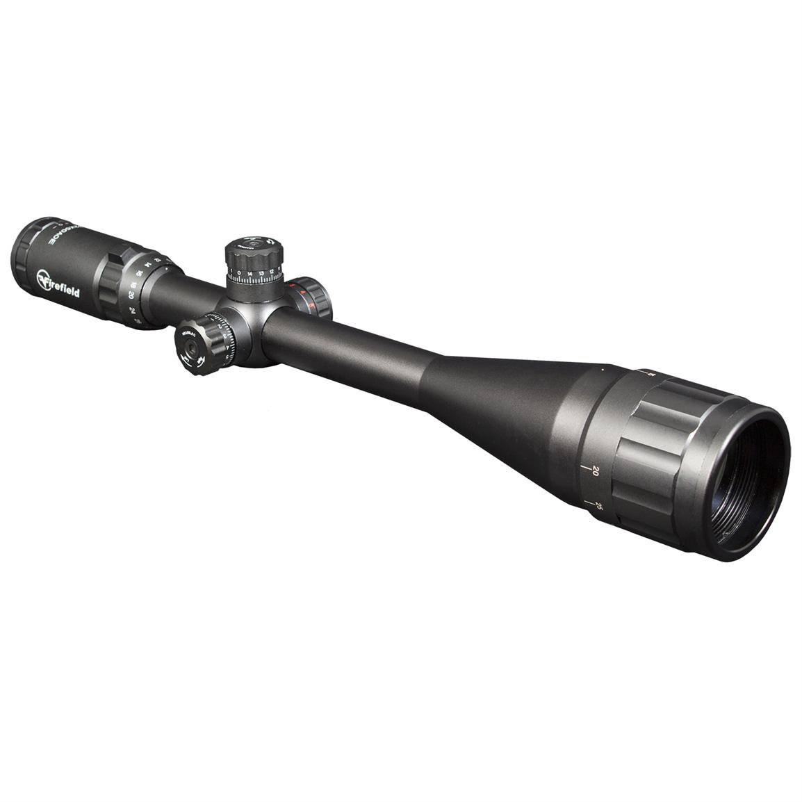 Firefield® FF13045 Tactical 8-32x50mm AO Illuminated Mil-dot Reticle Rifle Scope