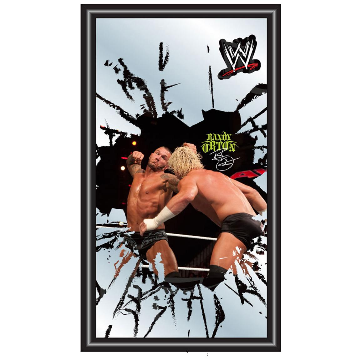 WWE® Randy Orton Framed Logo Mirror