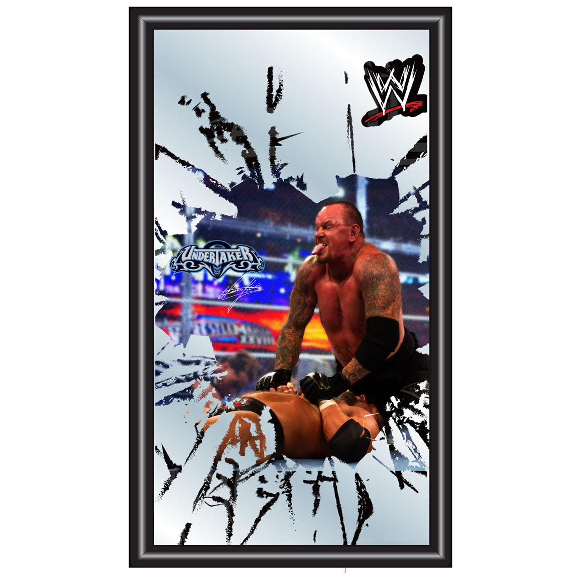 WWE® Undertaker Framed Logo Mirror