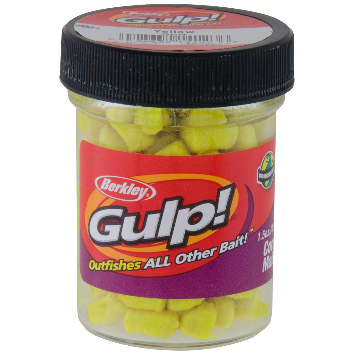 berkley gulp corn bait 1 5 oz jar 425048 soft baits