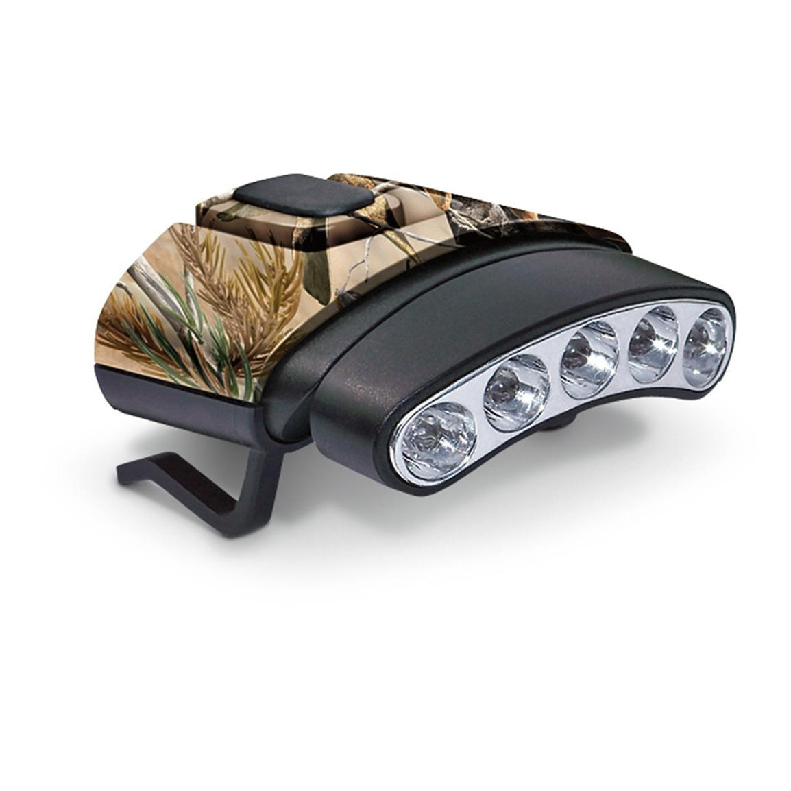 Cyclops Orion 45 degree Tilt Clip Lights, Camo