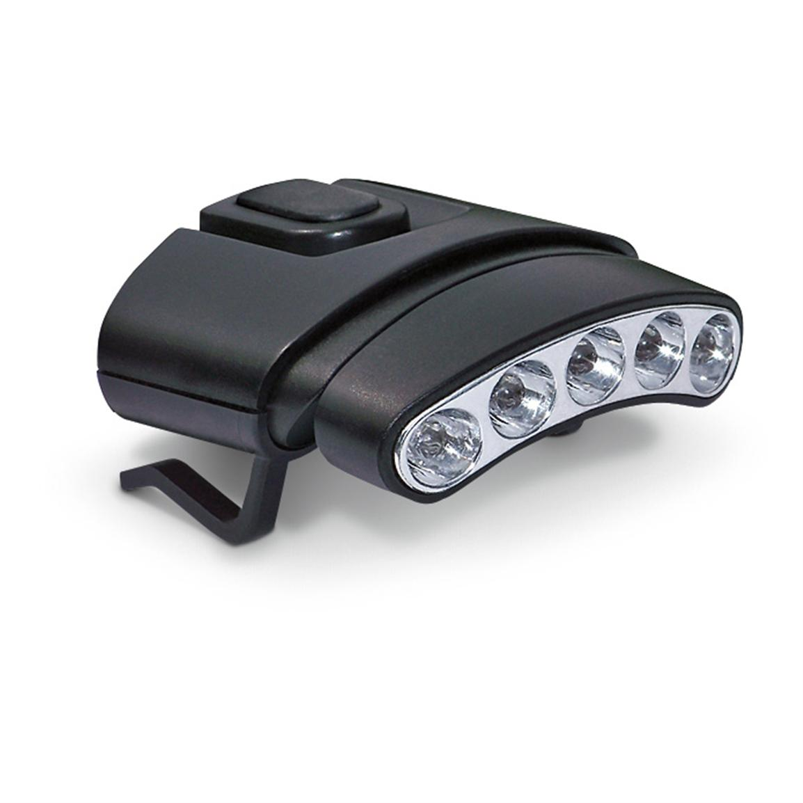 Cyclops Orion 45 degree Tilt Clip Lights, Black