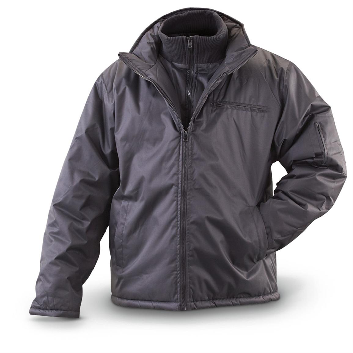 KC Collection® Insulated Jacket, Black