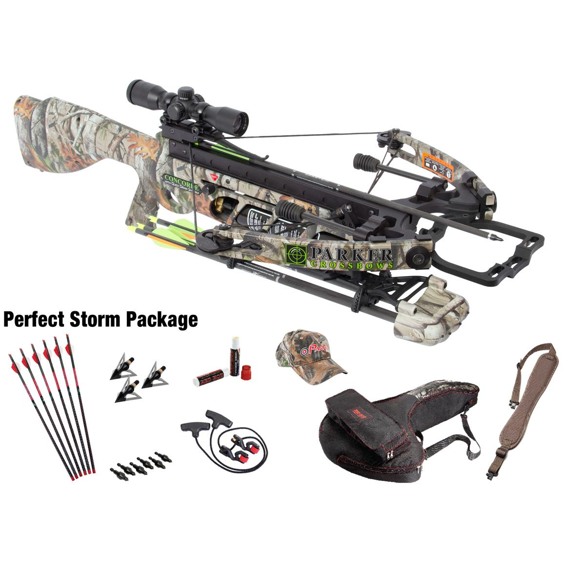 Parker® Concorde 175-lb. Crossbow with Perfect Storm 3X Illuminated Scope Package