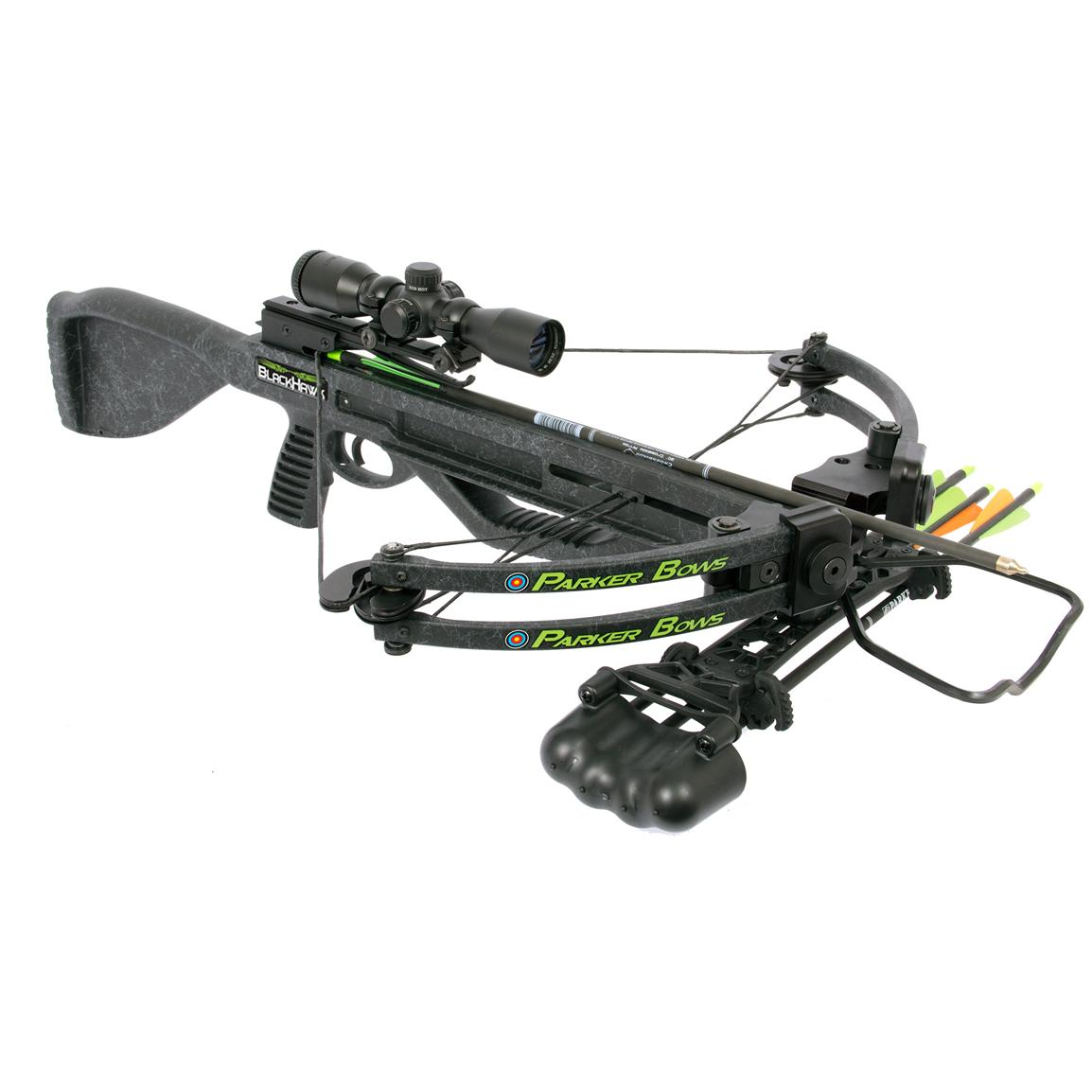 Parker® BlackHawk 160-lb. Crossbow with 1X Illuminated Scope Package