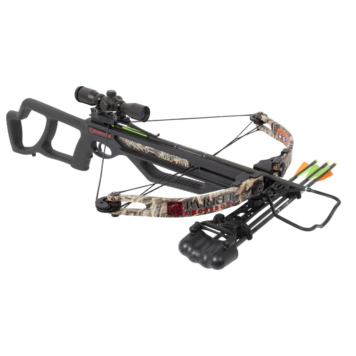 Parker® BushWacker 150-lb. Crossbow with 1X Illuminated Scope Package