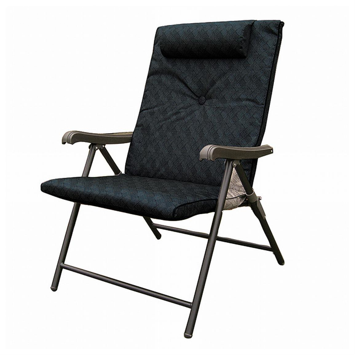 Prime Plus Folding Chair Black Chairs at