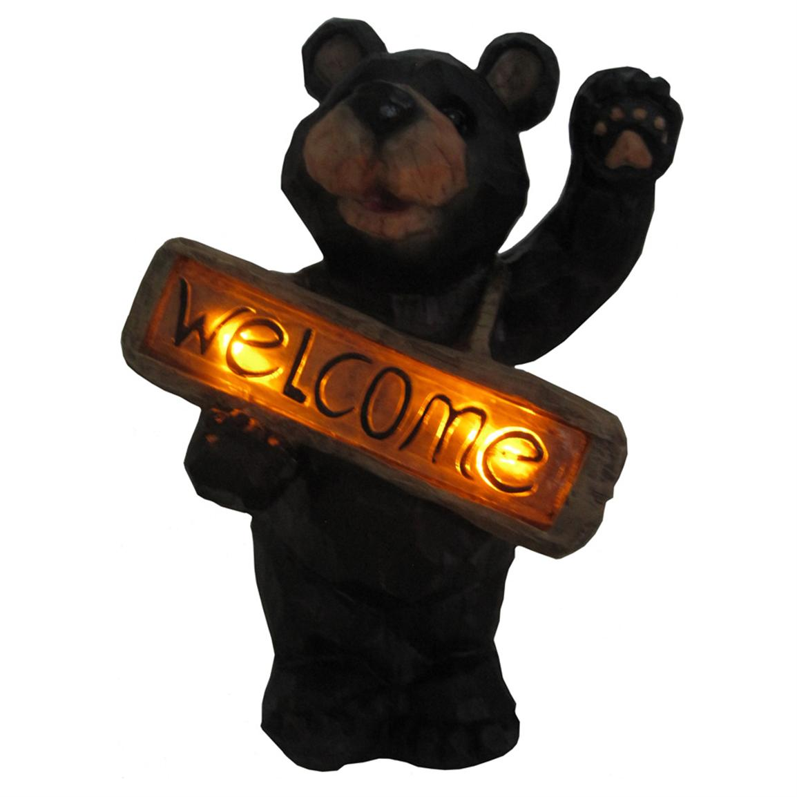 Smart Solar™ Welcome Bear Solar Accent Light