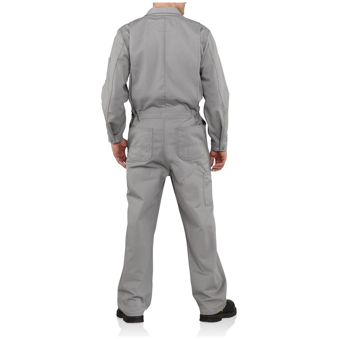 Carhartt® Flame-resistant Classic Twill Coveralls, Back