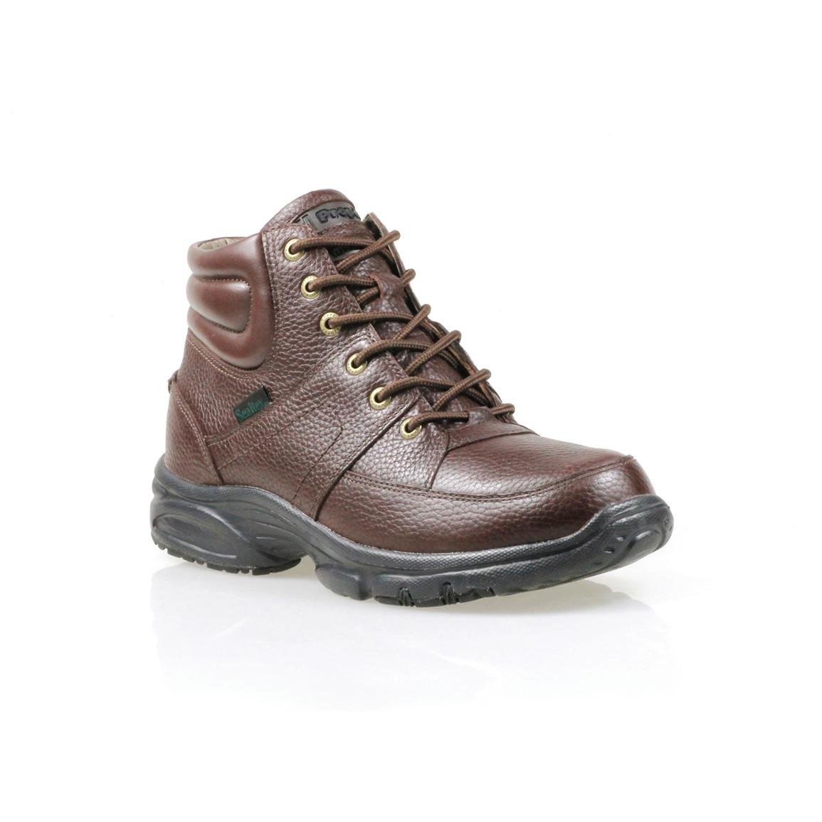 Men's Propet® Four Points Waterproof Mid Boots, Brown