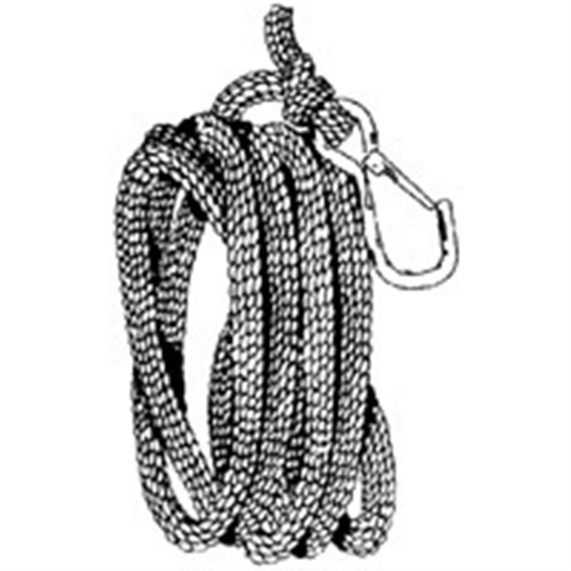 100' Braided Poly 3/8 inch Anchor Rope