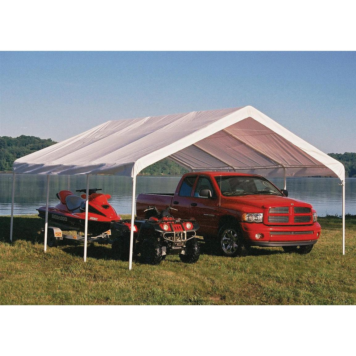 ShelterLogic 18x20' Premium 8-Leg Ultra Wide Canopy