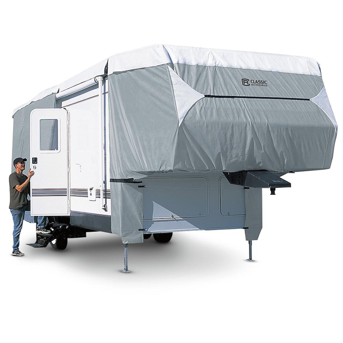 Poly Pro III Deluxe Travel Trailer Cover