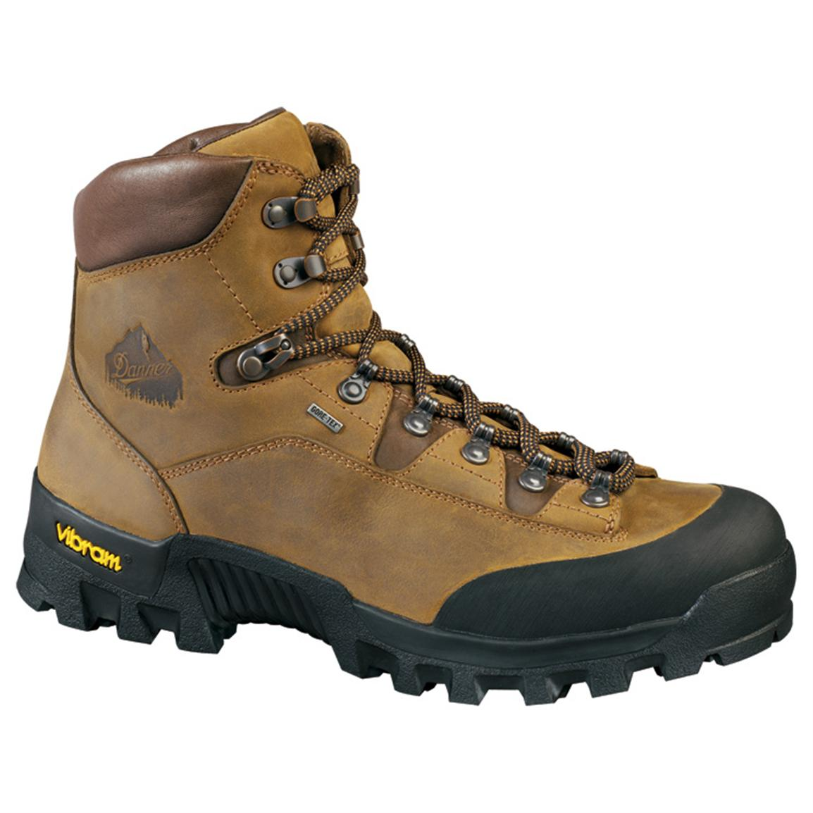 Men S Danner 174 6 1 2 Quot Expedition Gore Tex 174 Hikers Brown