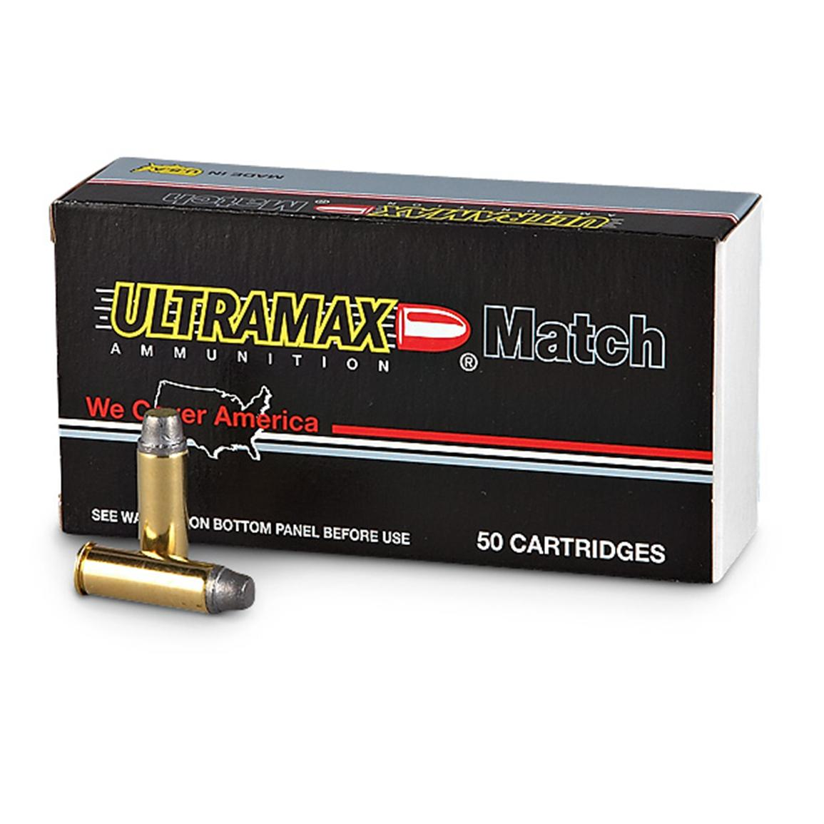 Ultramax, Remanufactured, .44 Mag, SWC, 240 Grain, 1,000 Rounds
