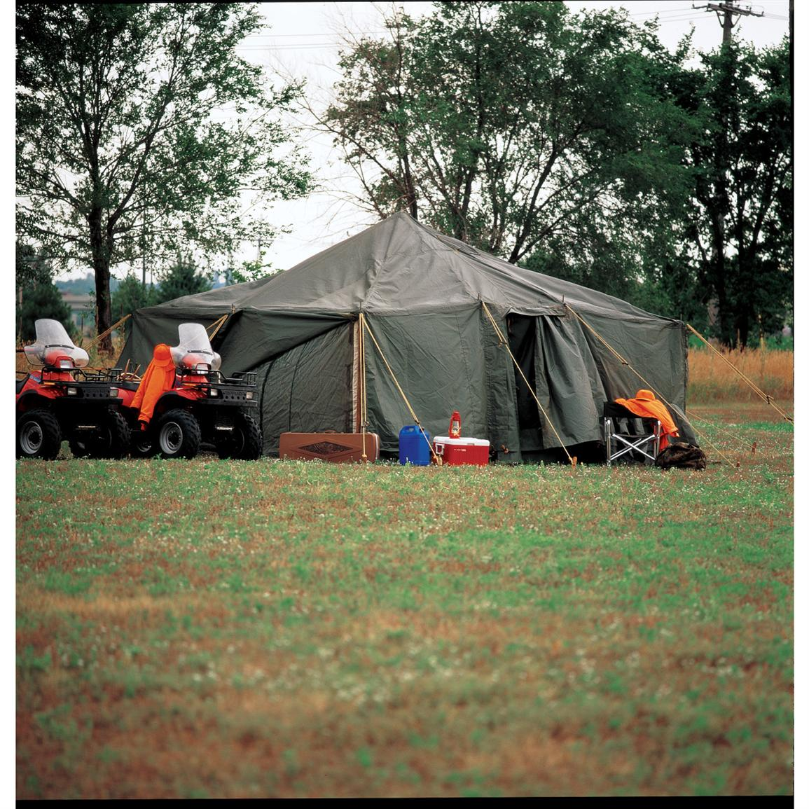 Used 16x16u0027 Adapted Military Tent & Used 16x16u0027 Adapted Military Tent - 51567 Tents u0026 Accessories at ...