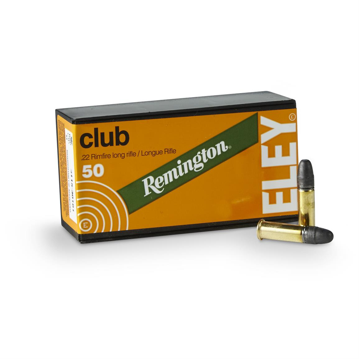 Remington / Eley, .22 Competition Club, LRN, 40 Grain, 50 Rounds