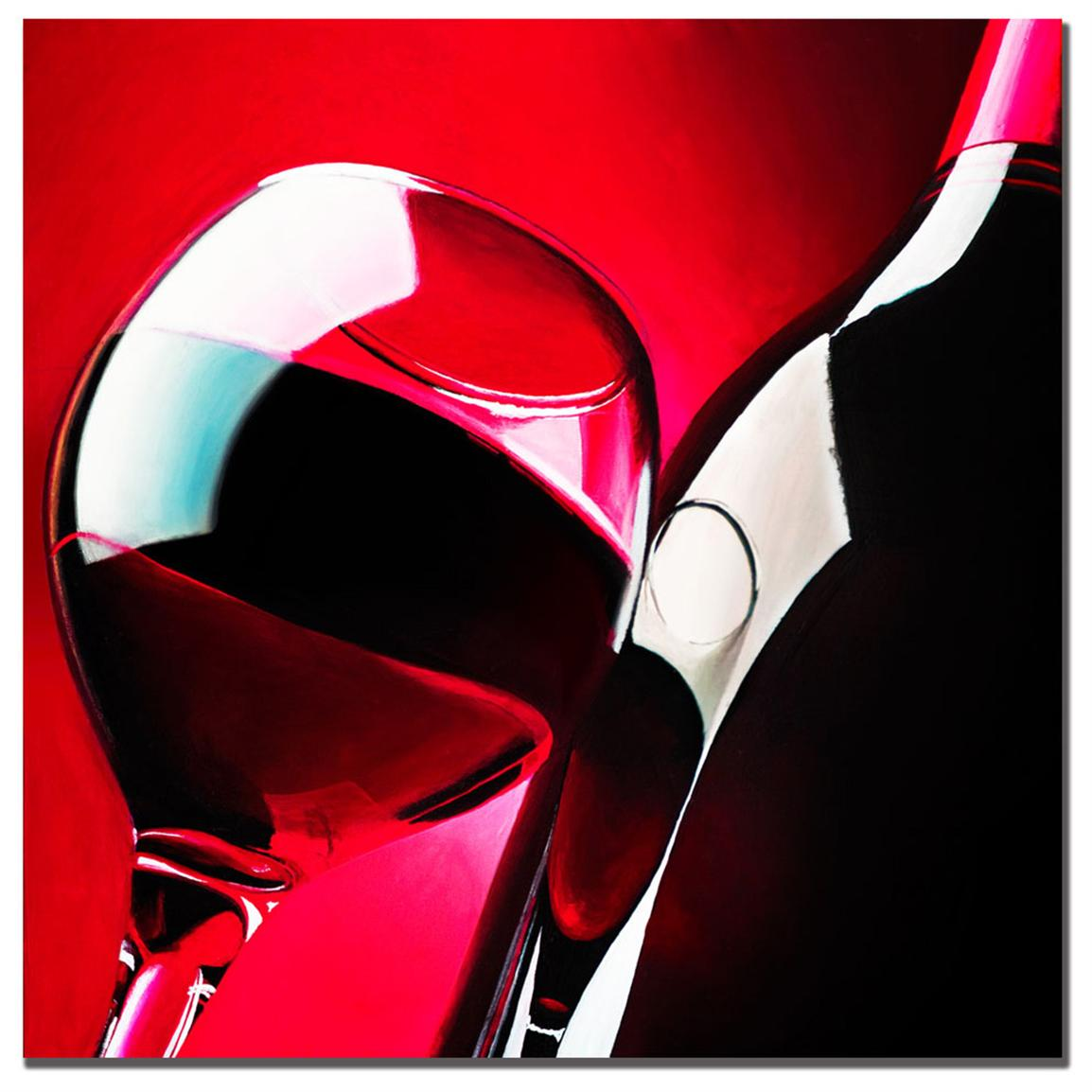 "Roderick Stevens ""Red Wine"" Canvas Art"