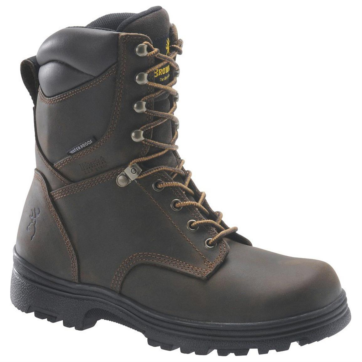 Men's Browning® BR9318 Insulated Waterproof Boots
