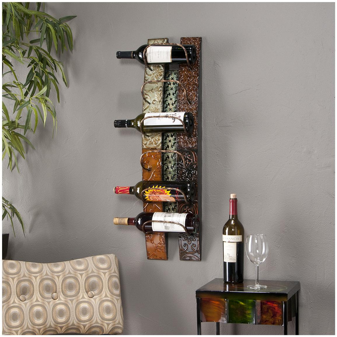Adriano Wall Mount Wine Storage