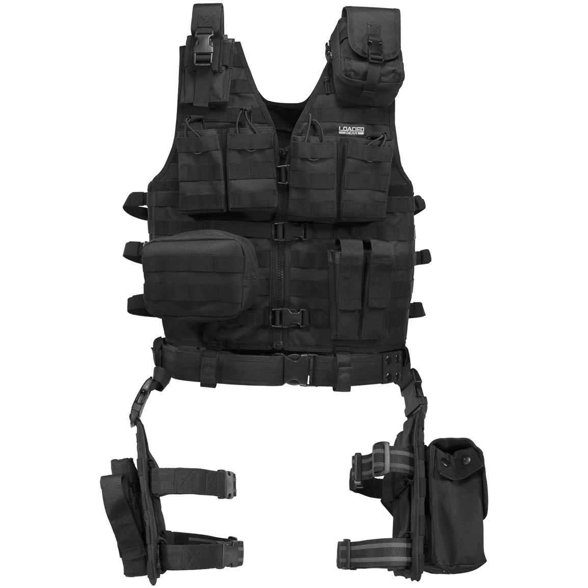 Barska® Loaded Gear™ VX-100 Tactical Vest and Leg Platform
