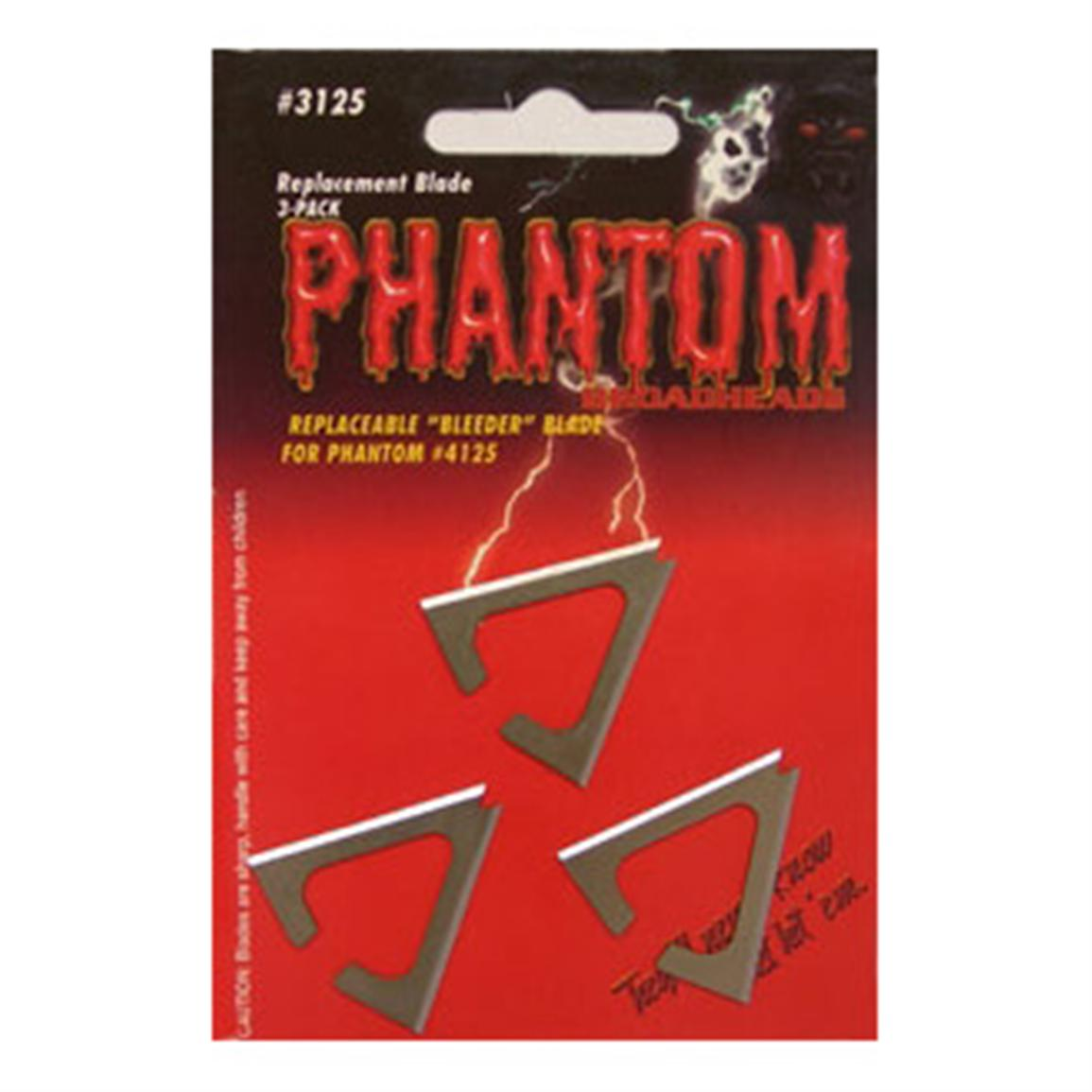 3-Pk. Muzzy® Phantom Bleeder Replacement Broadhead Blades