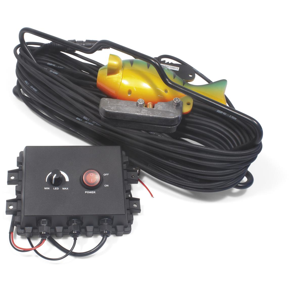 Aqua vu multi vu sony ccd hd color camera with 100 39 cable for Ice fishing electronics