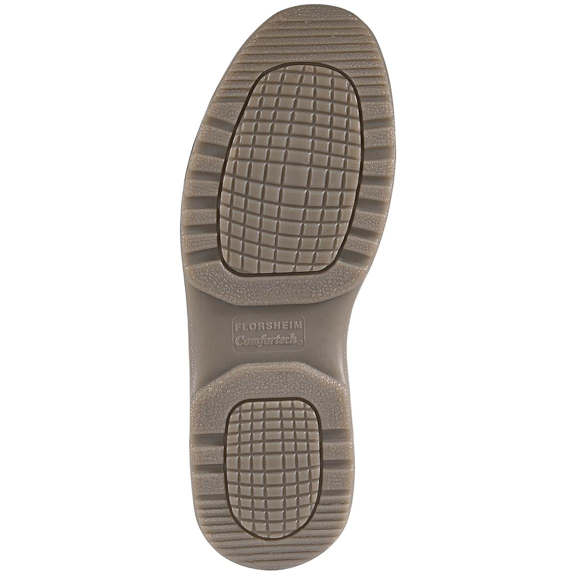 Super soft polyurethane midsoles plus a hard wearing sole for long-lasting comfort