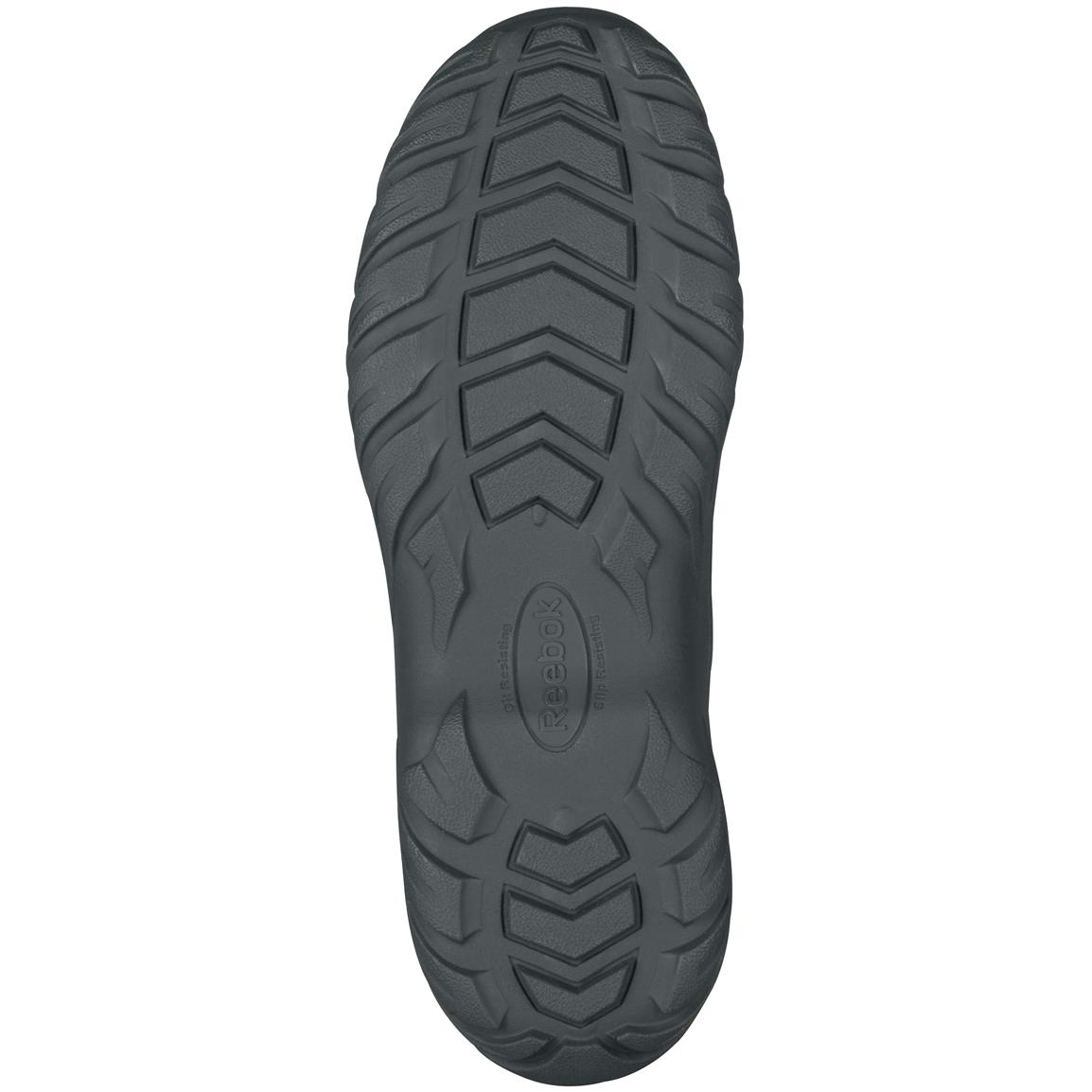 RECON Rugged Terrain slip-resistant rubber outsole