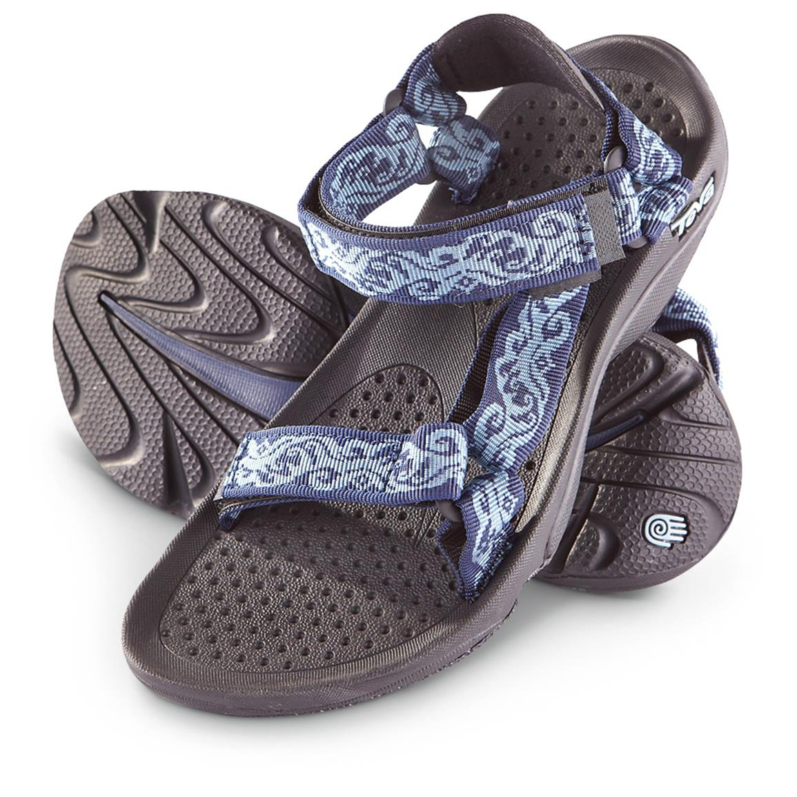 Teva Women's Hurricane 3 Sandals, Denim