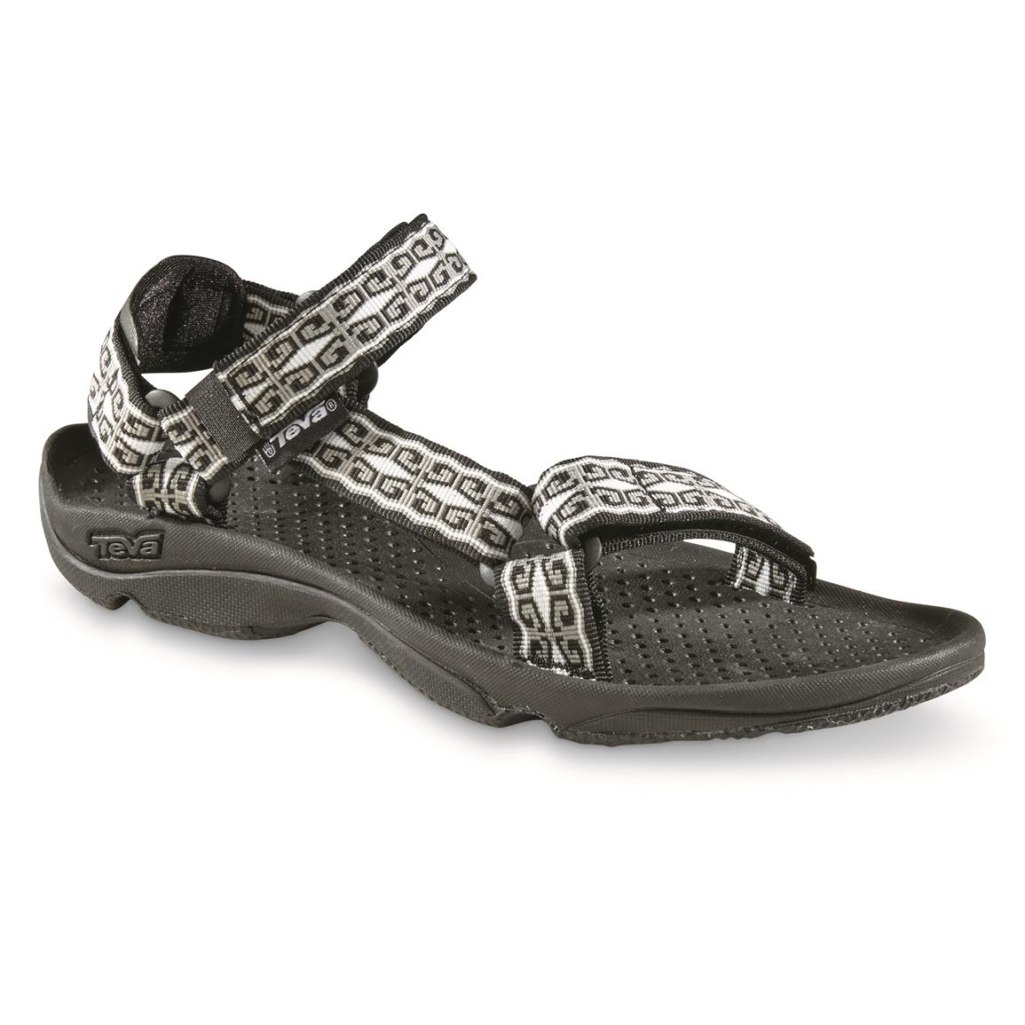 Teva Women's Hurricane 3 Sandals, Mini Denim Black