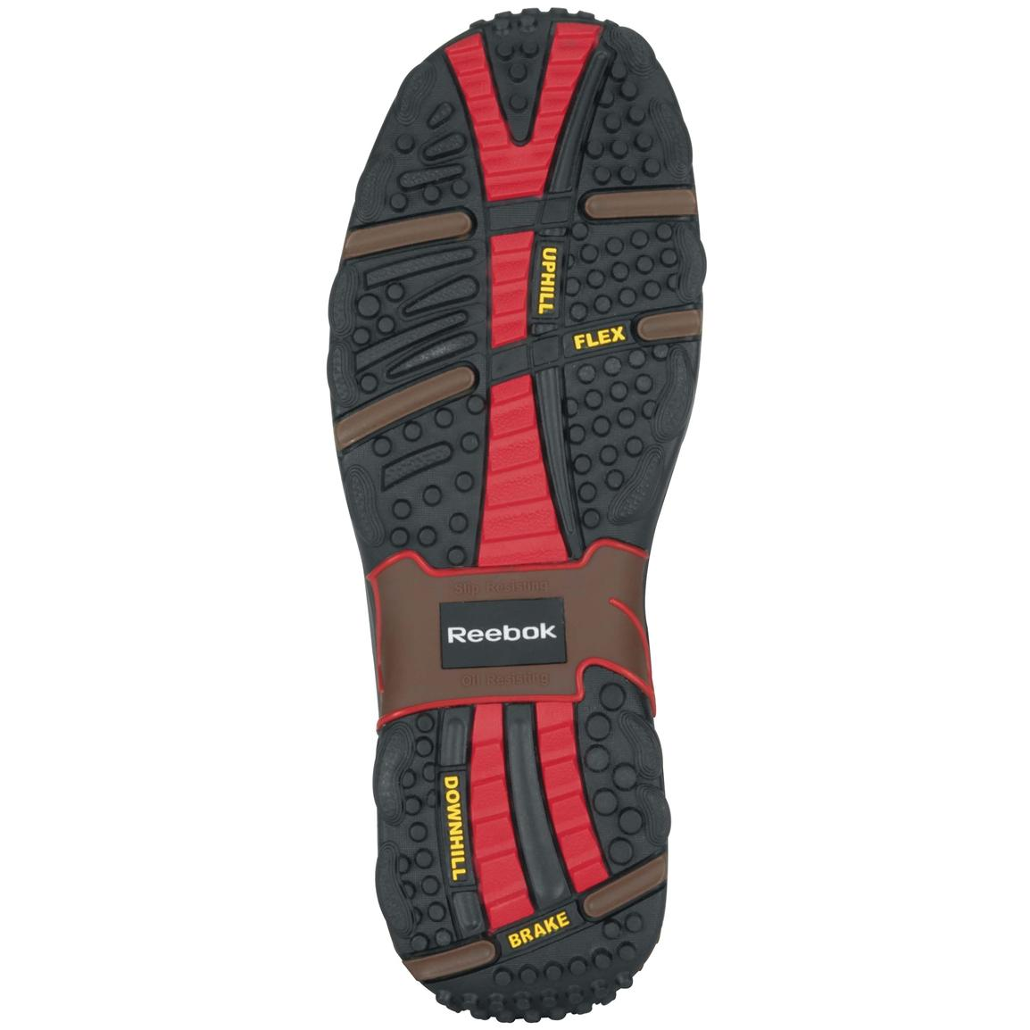 Dual-density, direct-attached rubber outsole delivers sure-footed traction